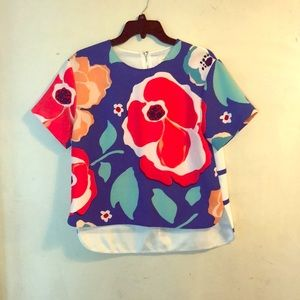 Tops - Kate Spade Floral Blouse